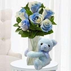 Cuddly Blue