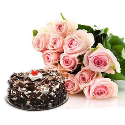 Rosesd and Black forest